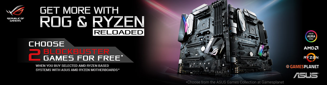 AMD Ryzen Reloaded Promotion