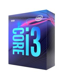 Intel Core i3 9100 CPU (Quad Core, 3.6GHz - 4.2GHz, 6MB Cache)