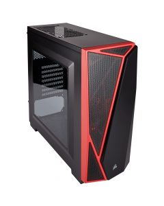 Corsair Carbide SPEC-04 Black/Red ATX (No Optical)