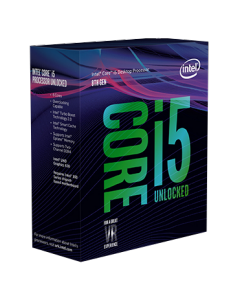 Intel Core i5 8600K CPU (Hexa Core, 3.6GHz - 4.3GHz, 9MB Cache)