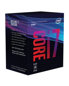 Intel Core i7 8700 CPU (Hexa Core, 3.4GHz - 4.6GHz, 12MB Cache)