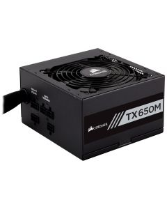Corsair TX-M Series™ TX650M — 650 Watt 80 Plus® Gold Certified PSU